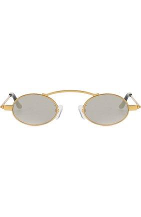 Мужские солнцезащитные очки ROBERI & FRAUD золотого цвета, арт. D0RIS 2.0 G0LD   Фото 2