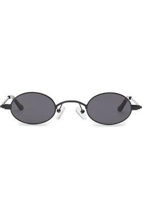 Мужские солнцезащитные очки ROBERI & FRAUD черного цвета, арт. D0RIS BLACK   Фото 2