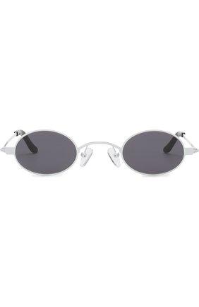 Мужские солнцезащитные очки ROBERI & FRAUD белого цвета, арт. D0RIS WHITE   Фото 2