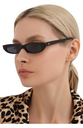 Женские солнцезащитные очки ROBERI & FRAUD черного цвета, арт. FRANCES BLACK | Фото 2