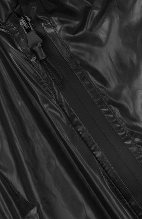Детский жилет с косой молнией и воротником-стойкой NUNUNU черного цвета, арт. NU1722B | Фото 3