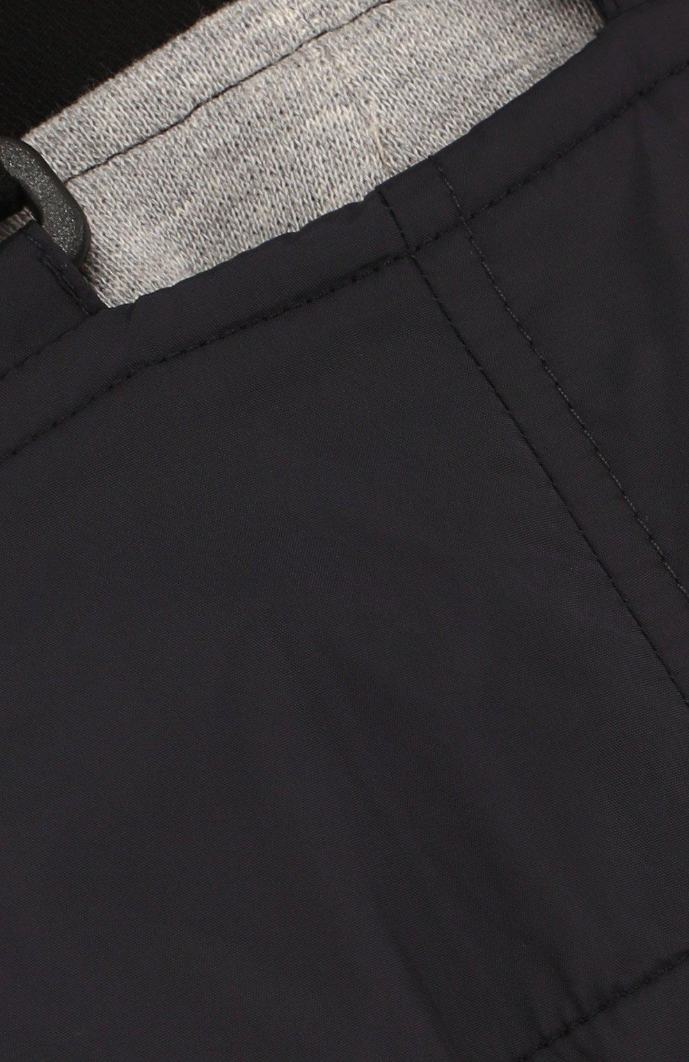 Детский комбинезон на подтяжках MONCLER ENFANT темно-синего цвета, арт. D1-951-14001-05-68352 | Фото 3