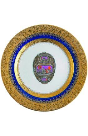 Мужского набор из 4-х десертных тарелок heritage FABERGE разноцветного цвета, арт. 6500-024RD | Фото 1