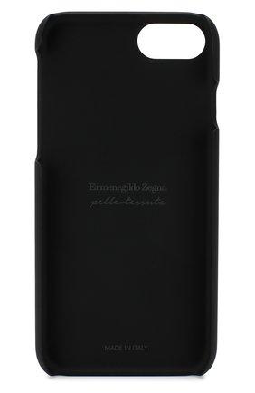 Мужской кожаный чехол для iphone 7/8 ERMENEGILDO ZEGNA темно-бежевого цвета, арт. E1249P-PSM | Фото 2