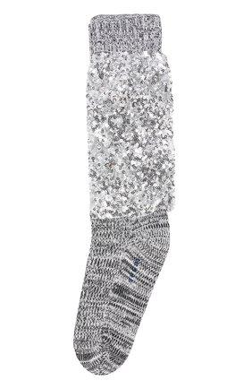 Хлопковые носки с пайетками | Фото №1