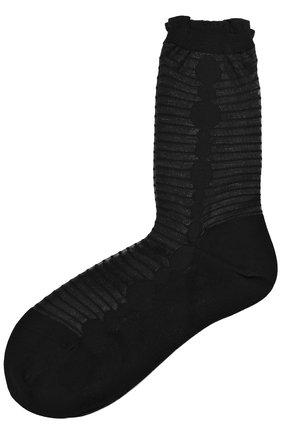Однотонные вязаные носки | Фото №1