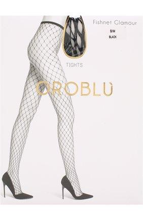 Женские колготки в сетку OROBLU черного цвета, арт. V0BC65100 | Фото 1