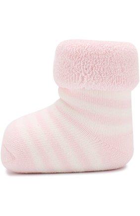 Детские хлопковые носки FALKE розового цвета, арт. 10040 | Фото 2