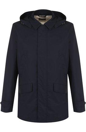 Хлопковая куртка Montville на молнии с капюшоном | Фото №1