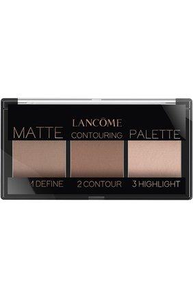 Палетка для контуринга Teint Idole Ultra Palette, оттенок Light Matte | Фото №1