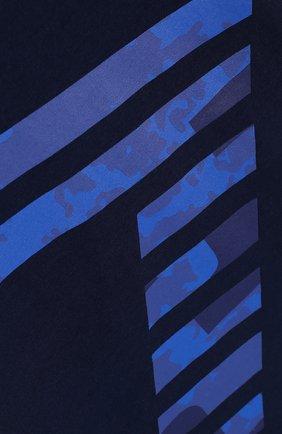 Детская хлопковая футболка с принтом EA 7 темно-синего цвета, арт. 3ZBT65/BJA2Z | Фото 3
