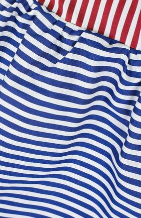 Хлопковая мини-юбка свободного кроя | Фото №3