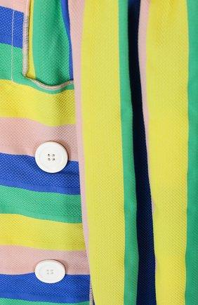 Мини-юбка свободного кроя с декором | Фото №3