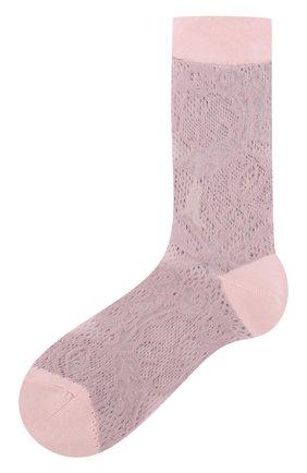 Однотонные высокие носки | Фото №1
