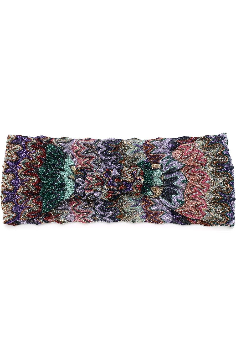 Вязаная повязка | Фото №2