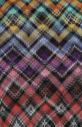 Вязаное мини-платье без рукавов | Фото №5