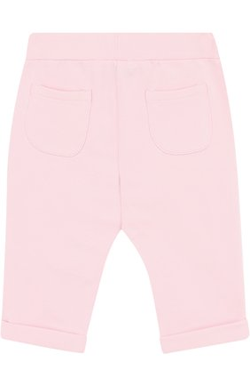 Хлопковые брюки с поясом на кулиске | Фото №2