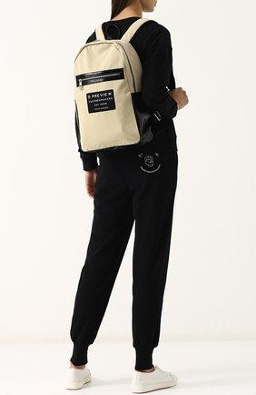 Текстильный рюкзак с аппликацией | Фото №2