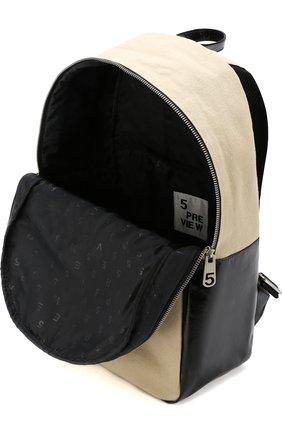 Текстильный рюкзак с аппликацией | Фото №4