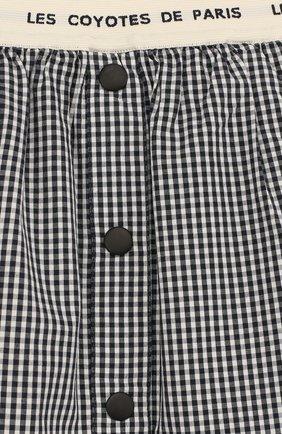 Хлопковая юбка-миди с эластичным поясом | Фото №3