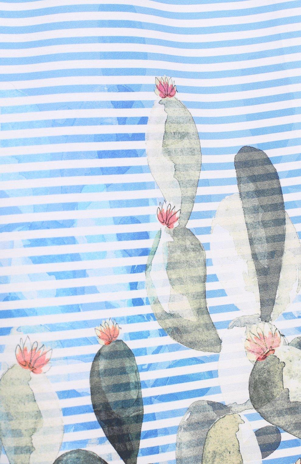 Хлопковые кюлоты с принтом | Фото №3