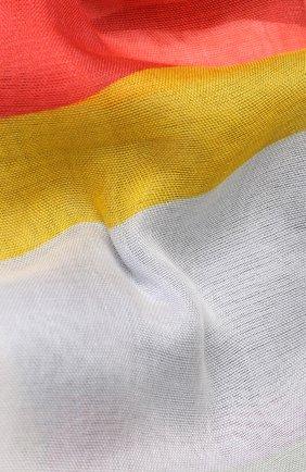 Женский платок из смеси вискозы и шелка с принтом GIORGIO ARMANI разноцветного цвета, арт. 795311/8P116 | Фото 2
