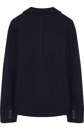 Пиджак джерси на двух пуговицах | Фото №2