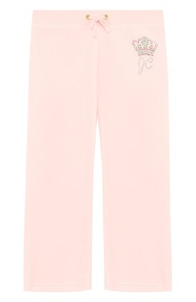 Спортивные брюки прямого кроя с поясом на кулиске | Фото №1