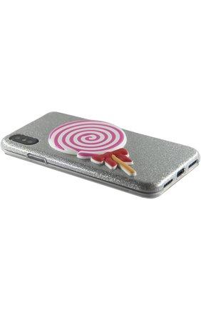 Мужской чехол для iphone x с аппликацией BENJAMINS разноцветного цвета, арт. BJX-3DL0L | Фото 2