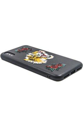 Мужской чехол для iphone x с вышивкой BENJAMINS разноцветного цвета, арт. BJX-RICTI   Фото 2