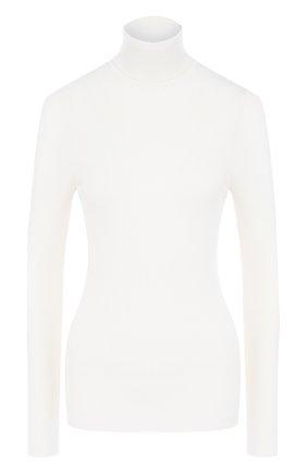 Приталенный шерстяной пуловер | Фото №1