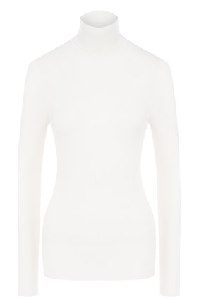 Женская шерстяная водолазка WOLFORD белого цвета, арт. 59316 | Фото 1