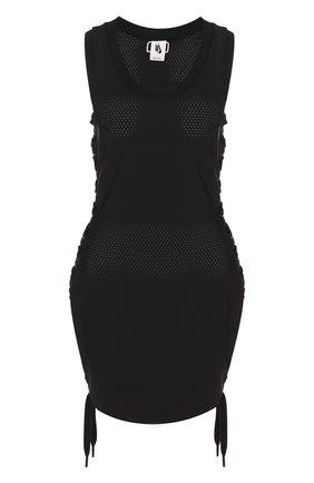 Перфорированное мини-платье с круглым вырезом NikeLab x Riccardo Tisci | Фото №1