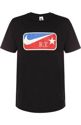 Хлопковая футболка NikeLab x Riccardo Tisci | Фото №1