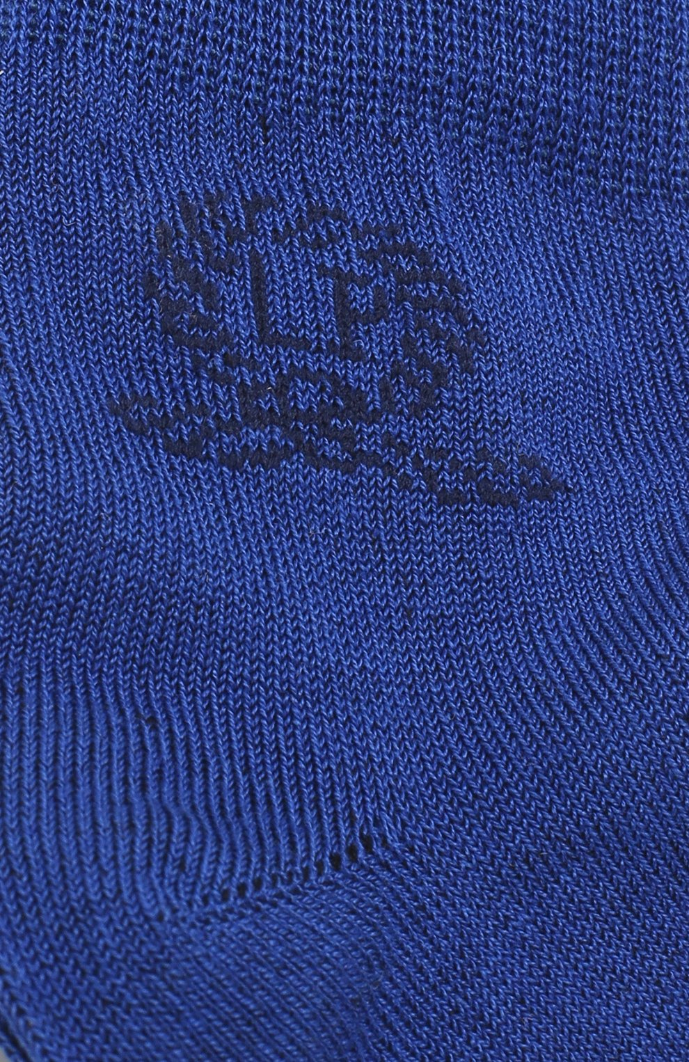 Детские носки с логотипом бренда La Perla синего цвета | Фото №2