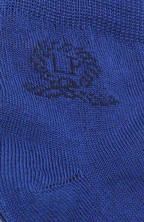 Детские носки с логотипом бренда LA PERLA синего цвета, арт. 42035/1-2 | Фото 2