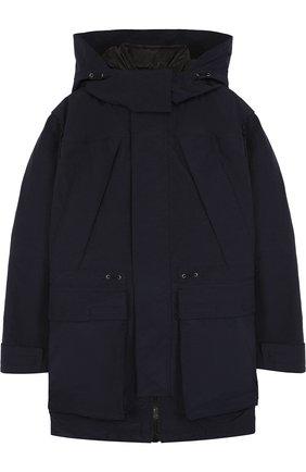 Куртка с капюшоном и пуховой подстежкой | Фото №1