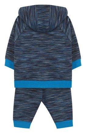 Детский хлопковый костюм из брюк и кардигана MARC JACOBS (THE) синего цвета, арт. W08054 | Фото 2
