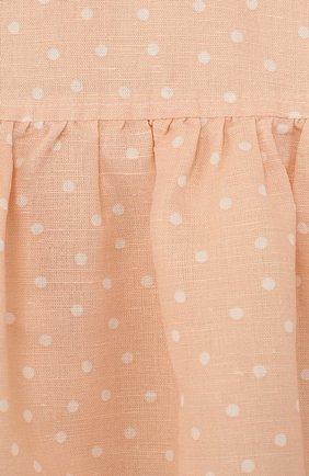 Женская комплект из платья и трусов ALETTA оранжевого цвета, арт. RW88638/24M   Фото 3