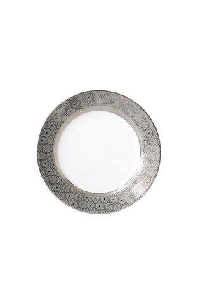 Тарелка салатная divine BERNARDAUD серебряного цвета, арт. 1388/17 | Фото 1 (Статус проверки: Проверена категория; Ограничения доставки: fragile-2)