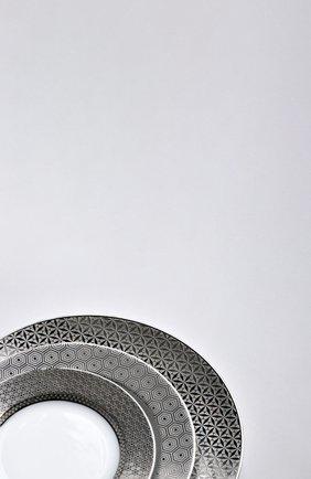 Тарелка салатная divine BERNARDAUD серебряного цвета, арт. 1388/17 | Фото 2 (Статус проверки: Проверена категория; Ограничения доставки: fragile-2)