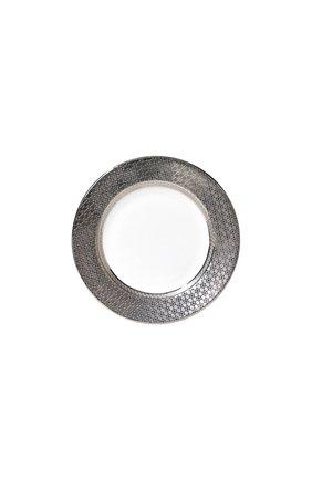 Тарелка для хлеба и масла divine BERNARDAUD серебряного цвета, арт. 1388/3 | Фото 1 (Статус проверки: Проверена категория; Ограничения доставки: fragile-2)