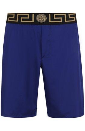 Плавки-шорты с широкой резинкой | Фото №1