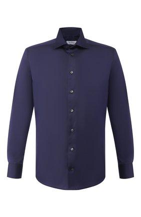 Мужская хлопковая сорочка ETON темно-синего цвета, арт. 3000 79511   Фото 1