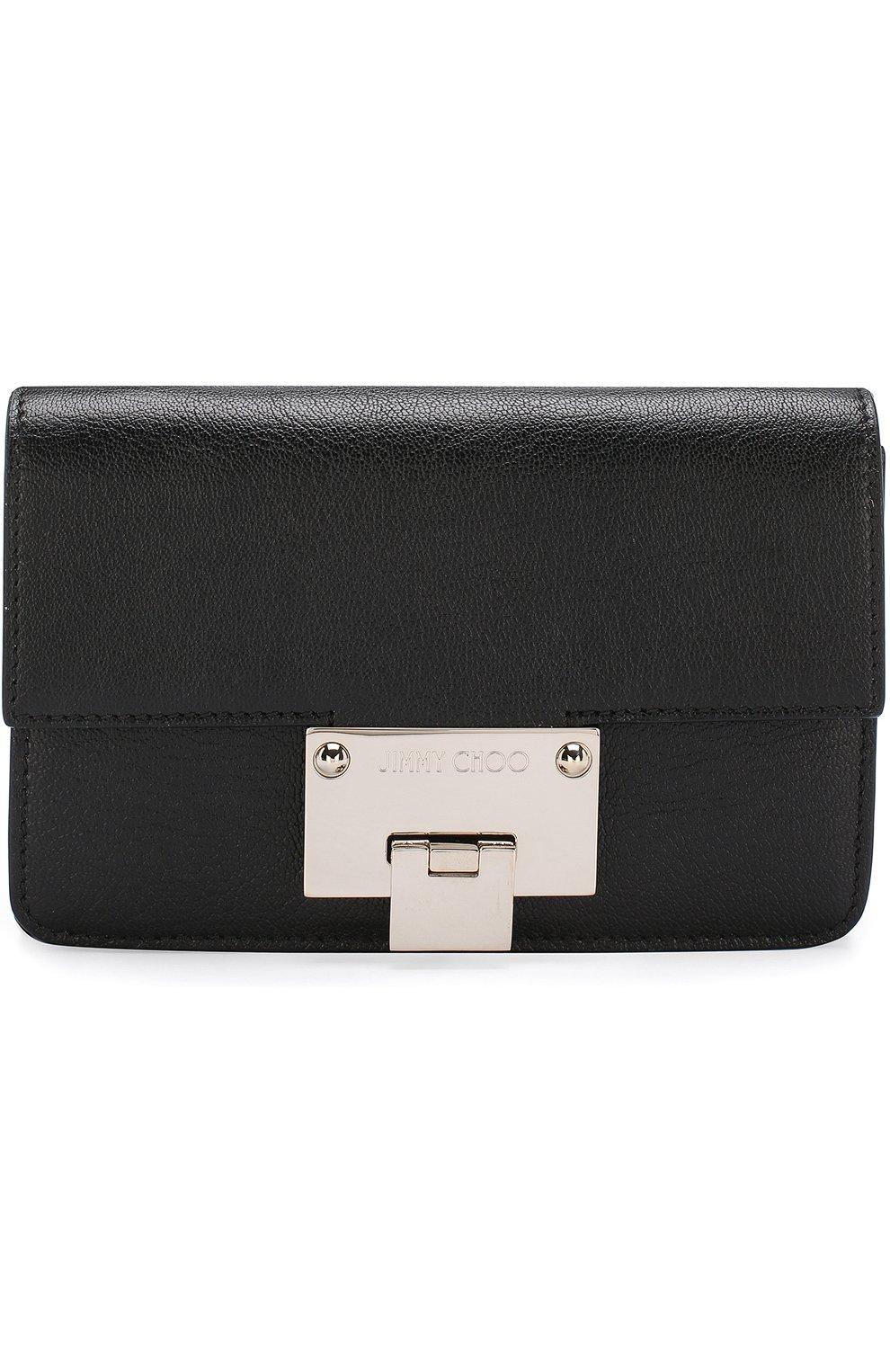 женская сумка Rebel Mini Jimmy Choo черная цвета купить за 53550