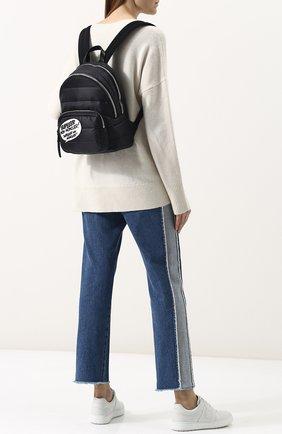 Рюкзак из текстиля с аппликацией   Фото №2