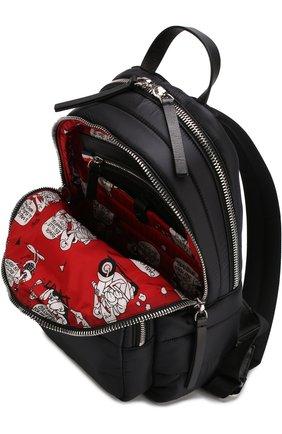 Рюкзак из текстиля с аппликацией   Фото №4