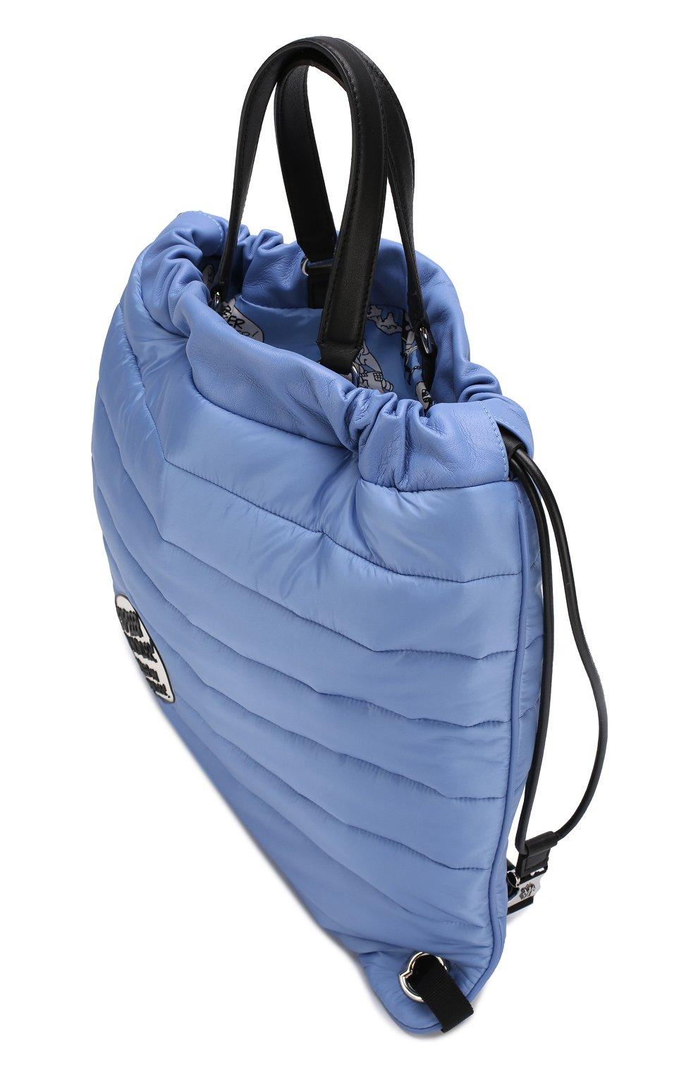 Рюкзак из текстиля с аппликацией | Фото №4