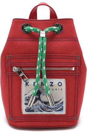 Рюкзак из текстиля с аппликацией | Фото №1
