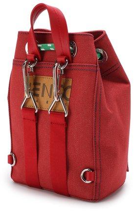 Рюкзак из текстиля с аппликацией | Фото №3